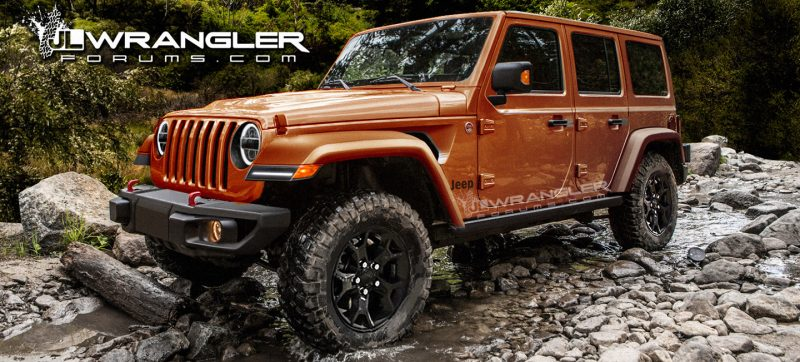 Jeep JL Wrangler sneak peek