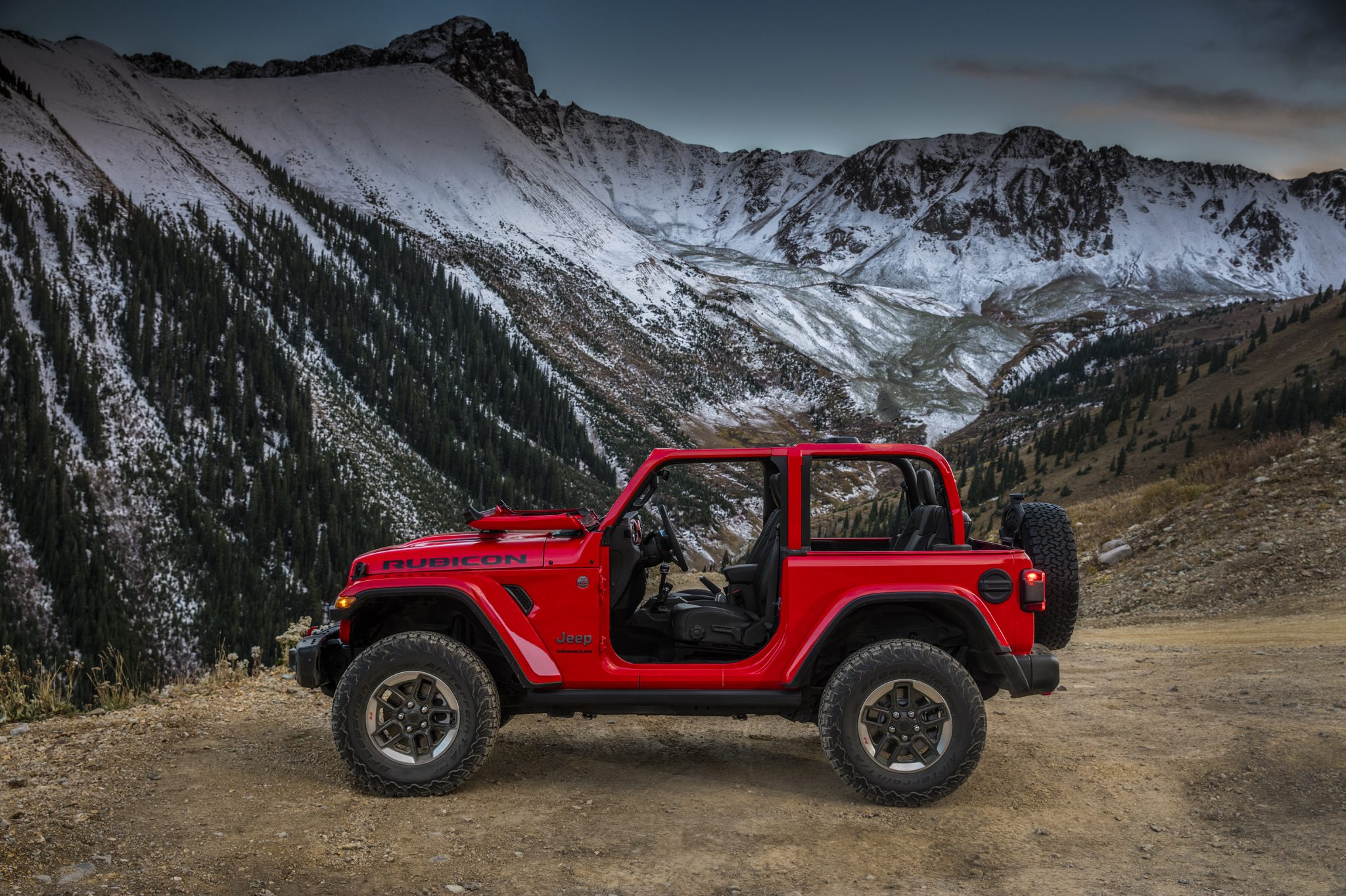 Here is the all-new 2018 Jeep Wrangler