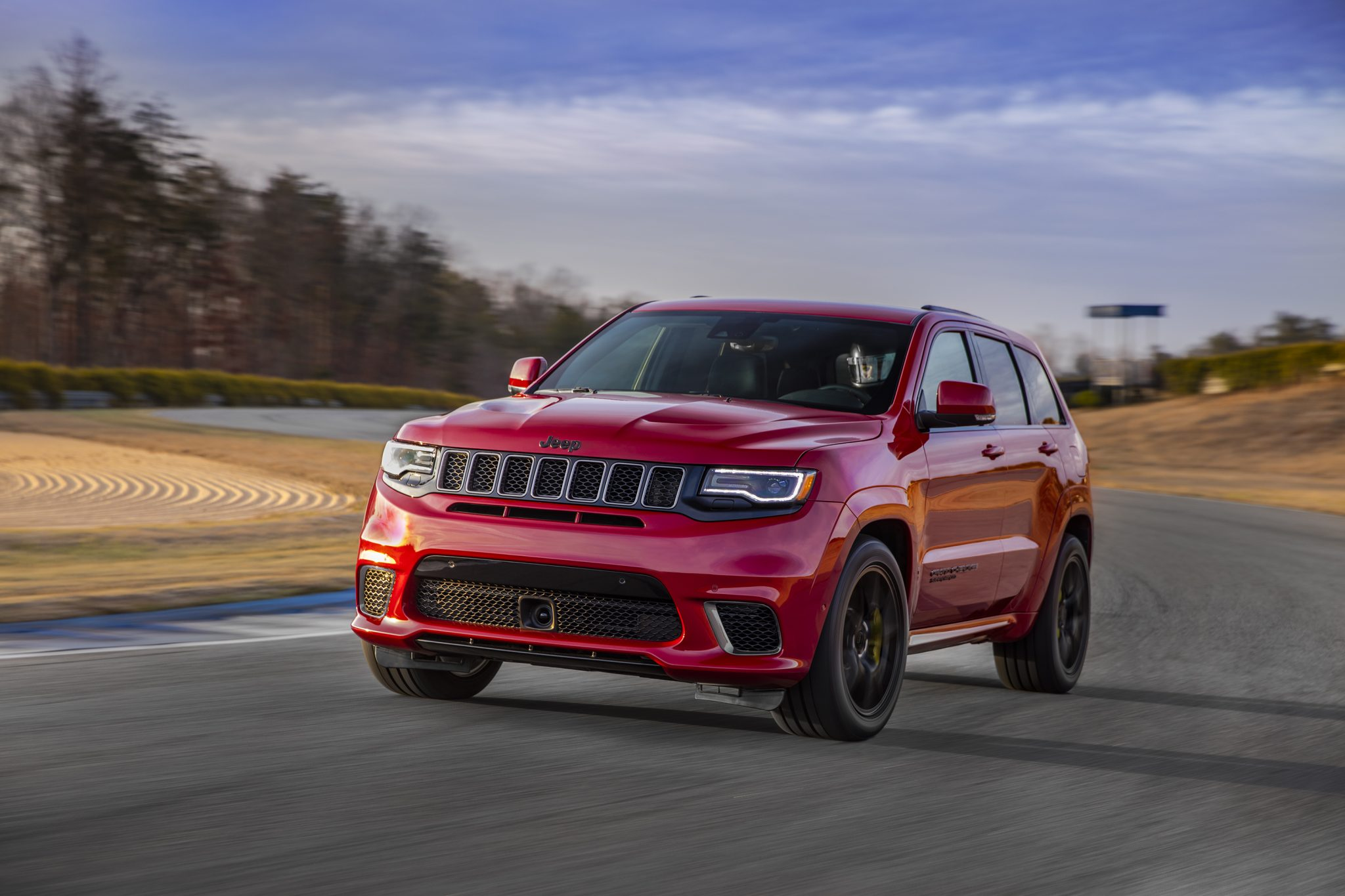 Grand Cherokee Trackhawk recalled