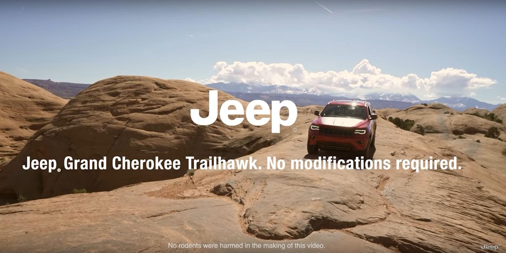 Kia tried Moab. Jeep trolled on through