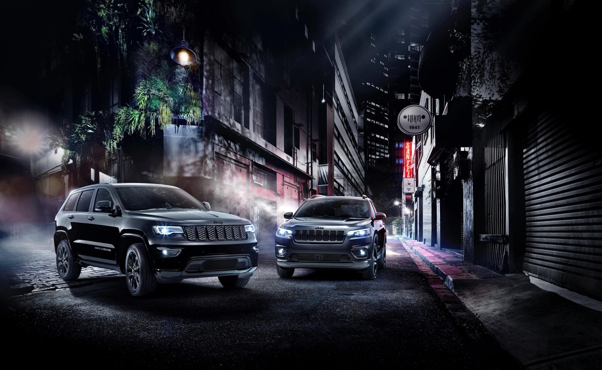 Jeep's New Special Edition Night Eagle Models