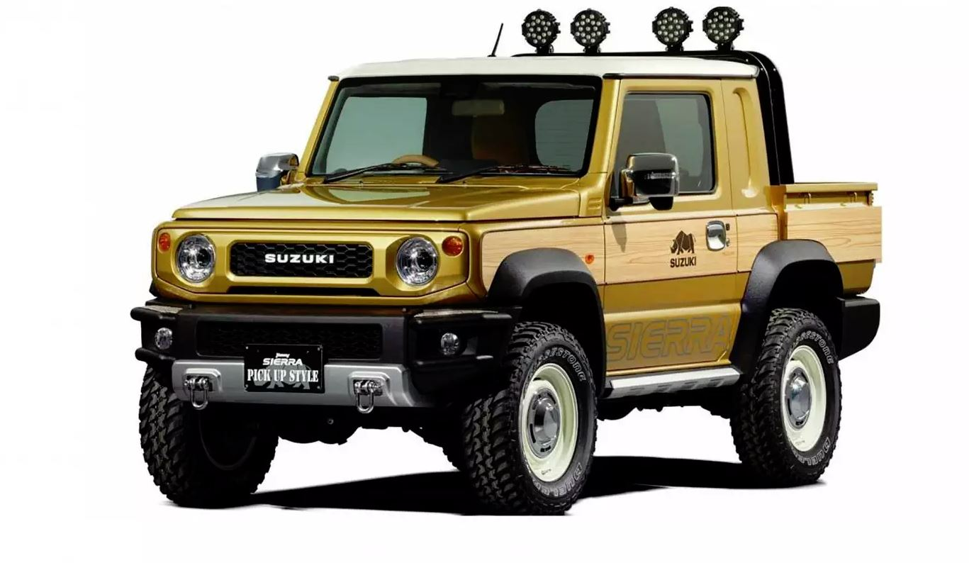 The Suzuki Jimny Little Woody… er, Suzuki Pickup Concept