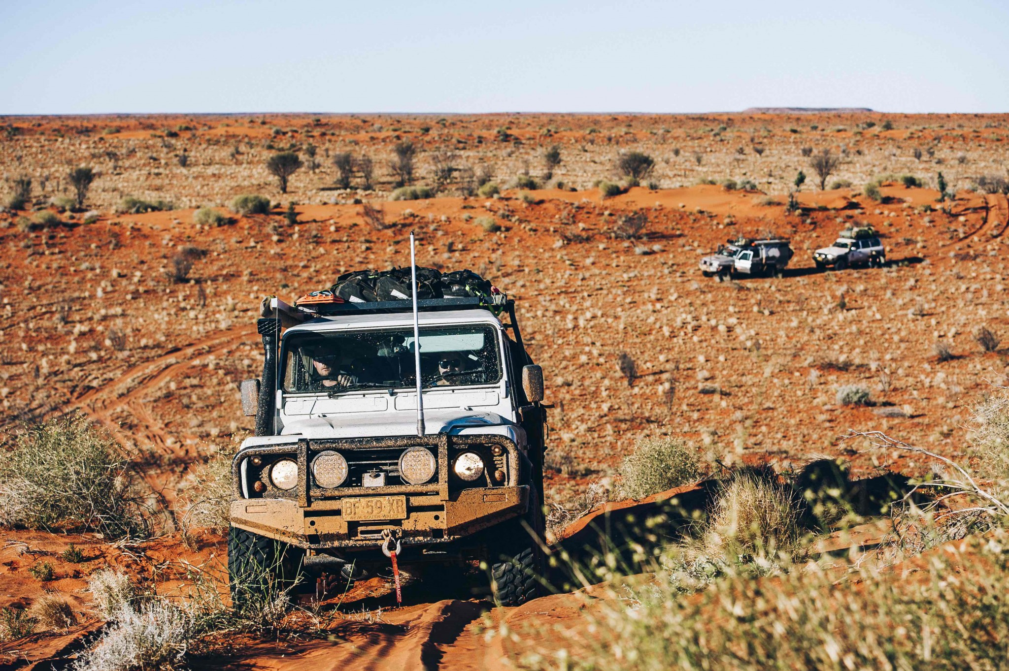 Madigan Line, Simpson Desert video, Part I