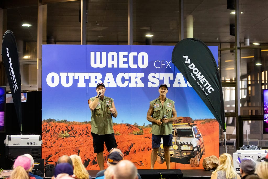 Melbourne 4x4 Show Waeco Stage