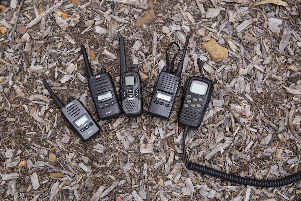 How to use a UHF radio