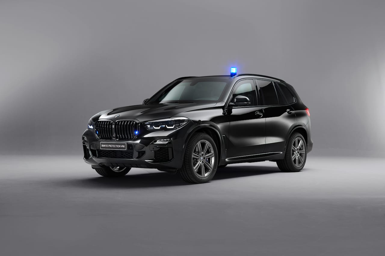 Bullet and bomb-proof 2019 BMW X5 Protection VR6 revealed