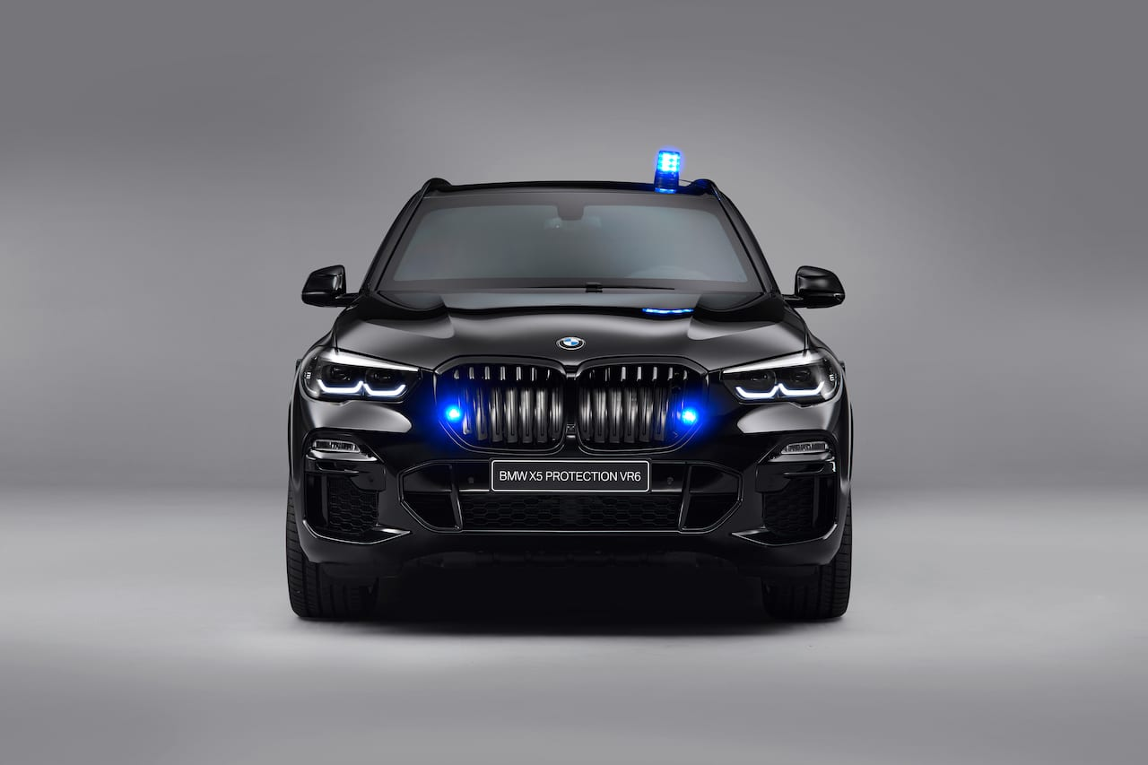armoured 2019 BMW X5 Protection VR6