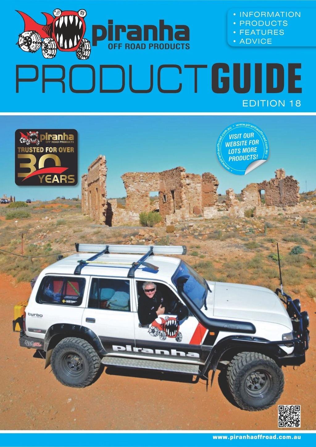Piranha Off Road Product shows off expanded product portfolio