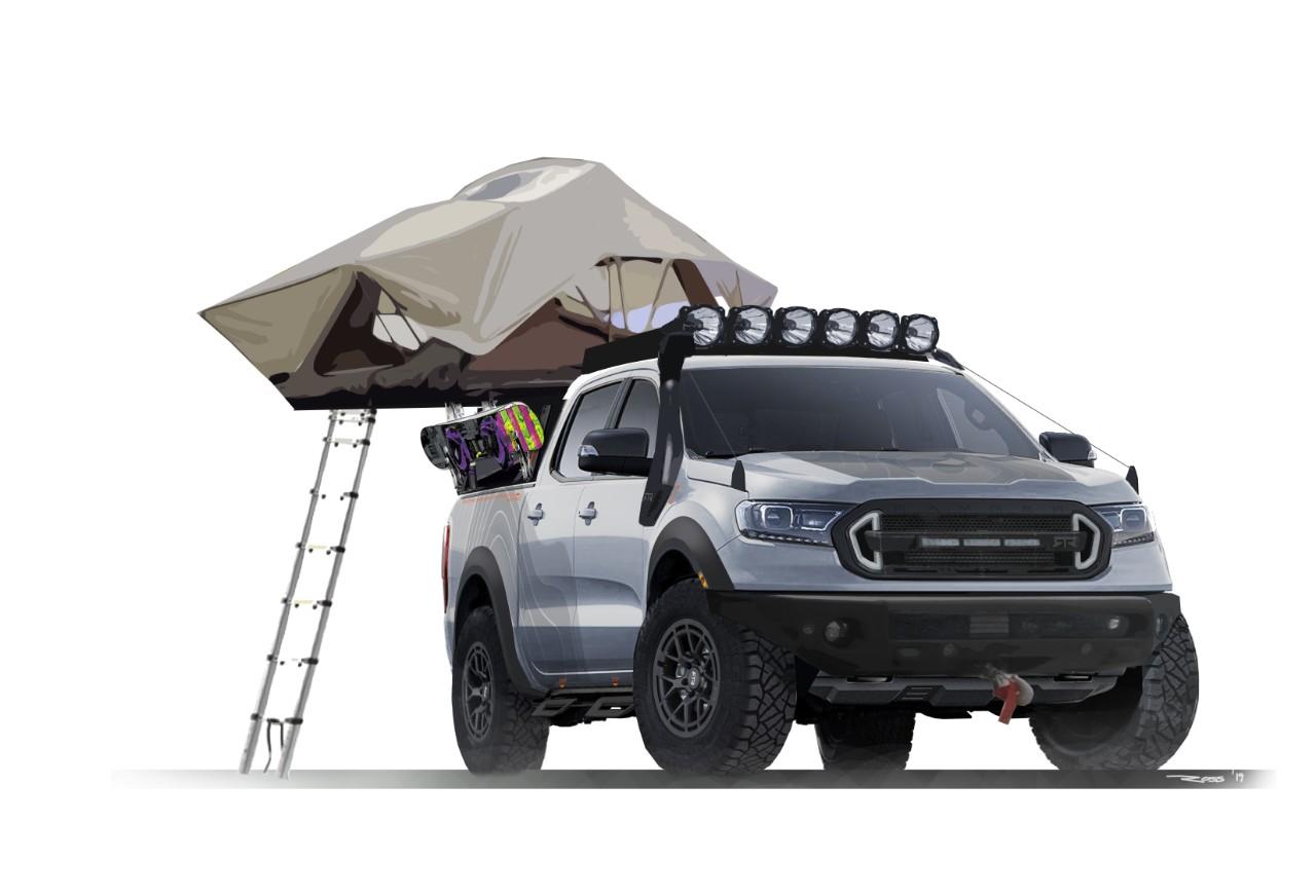 SEMA Ford Ranger concepts teased