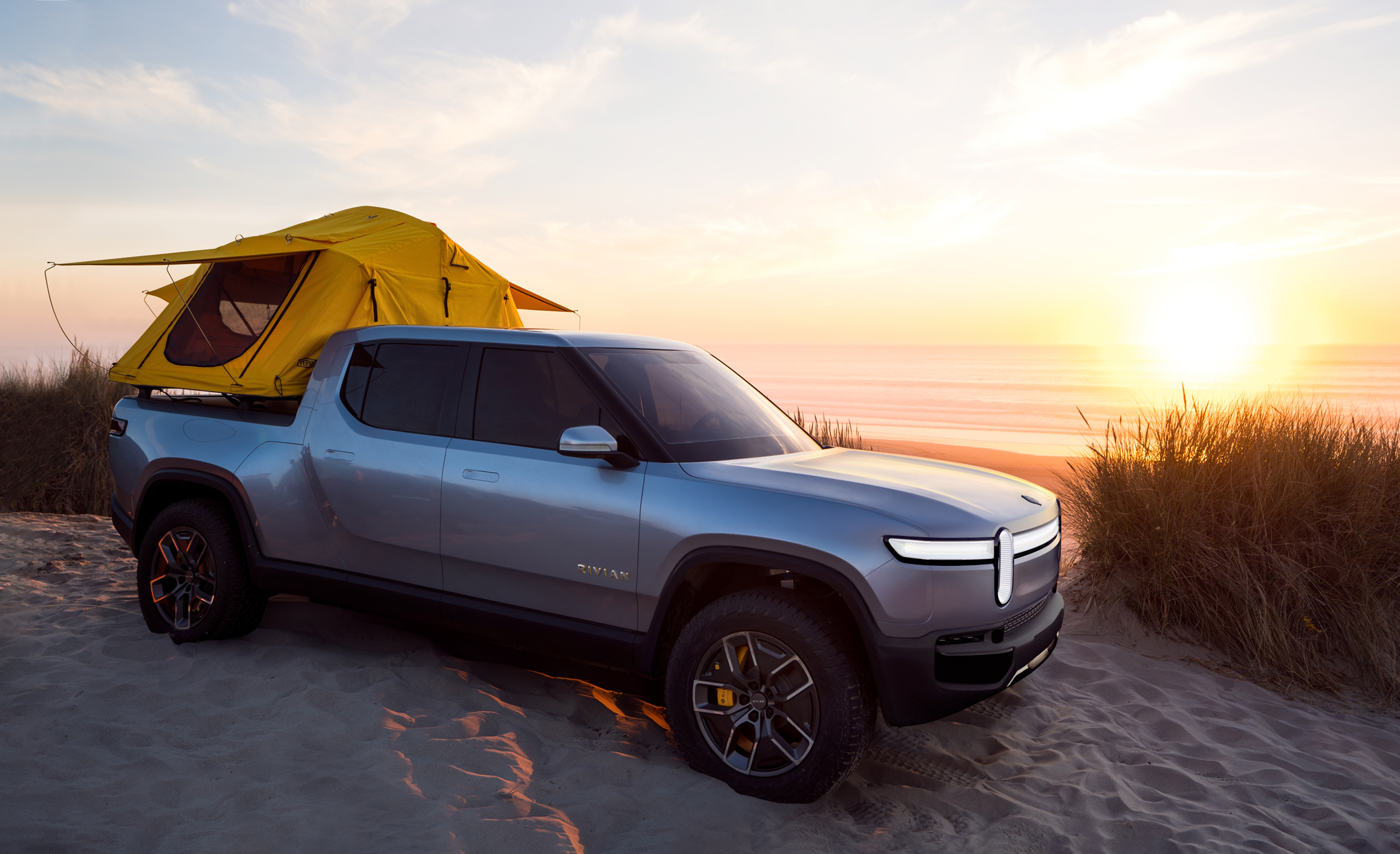 Rivian R1T electric ute unveiled