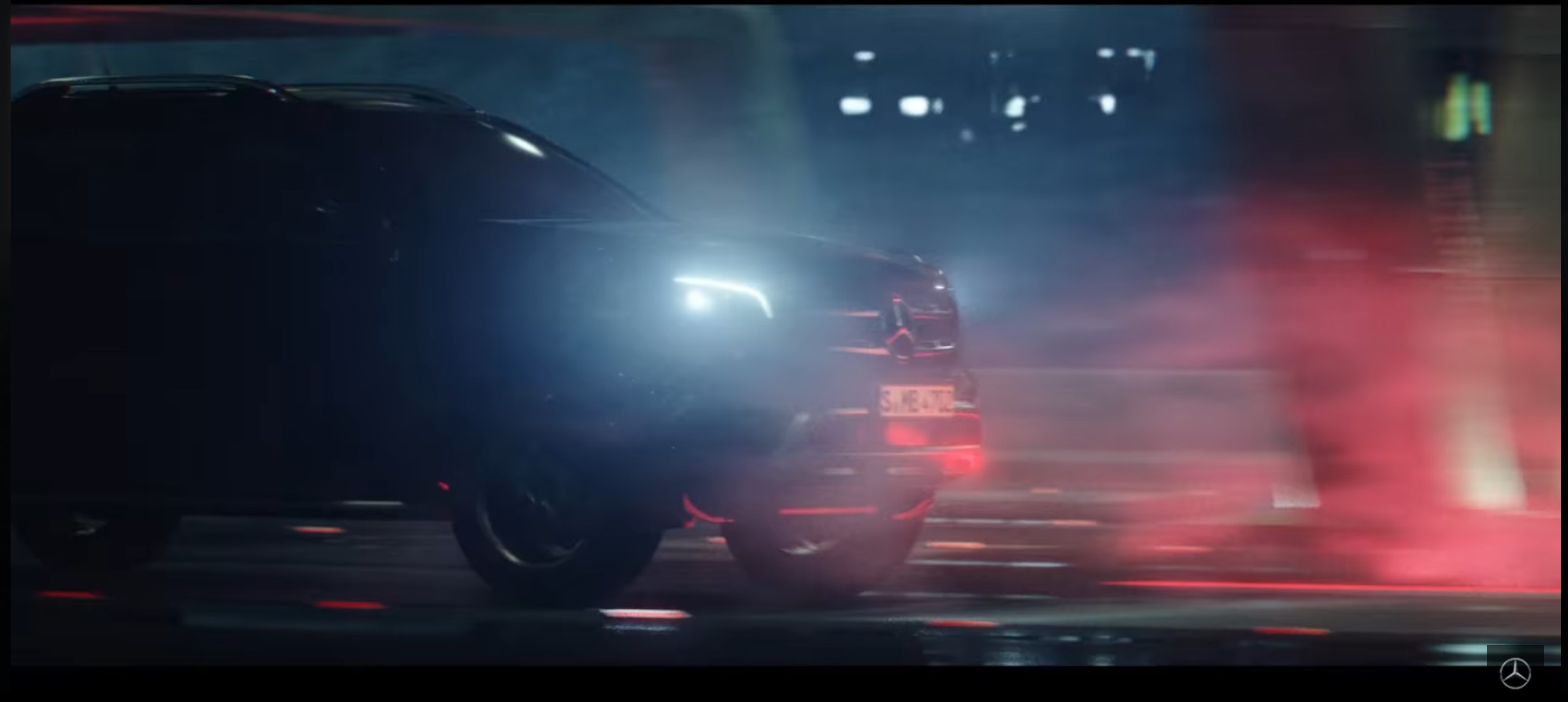 Mercedes X-Class teaser video shows lots of things, not much ute.