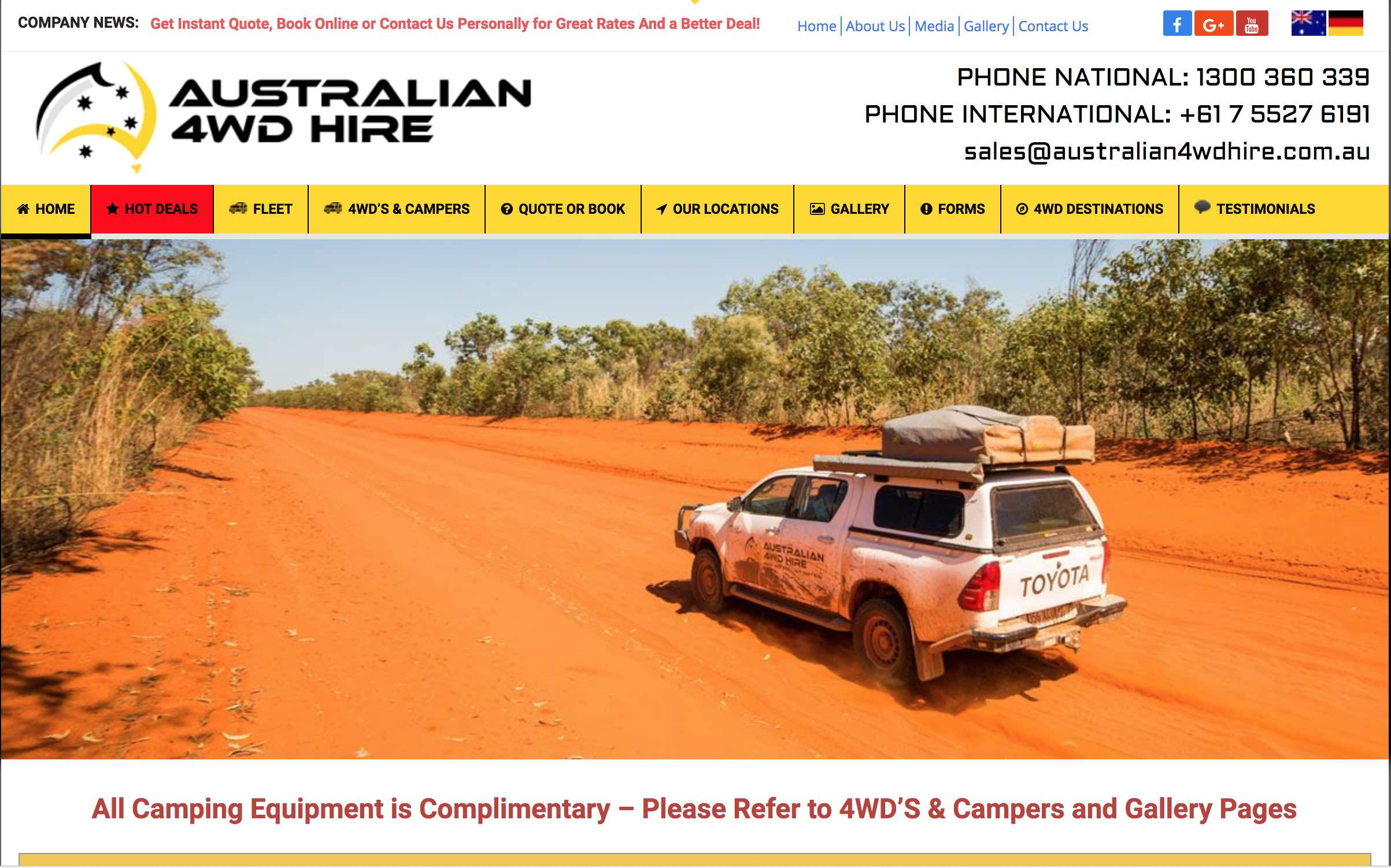 This 4WD hire company IS ripping off customers