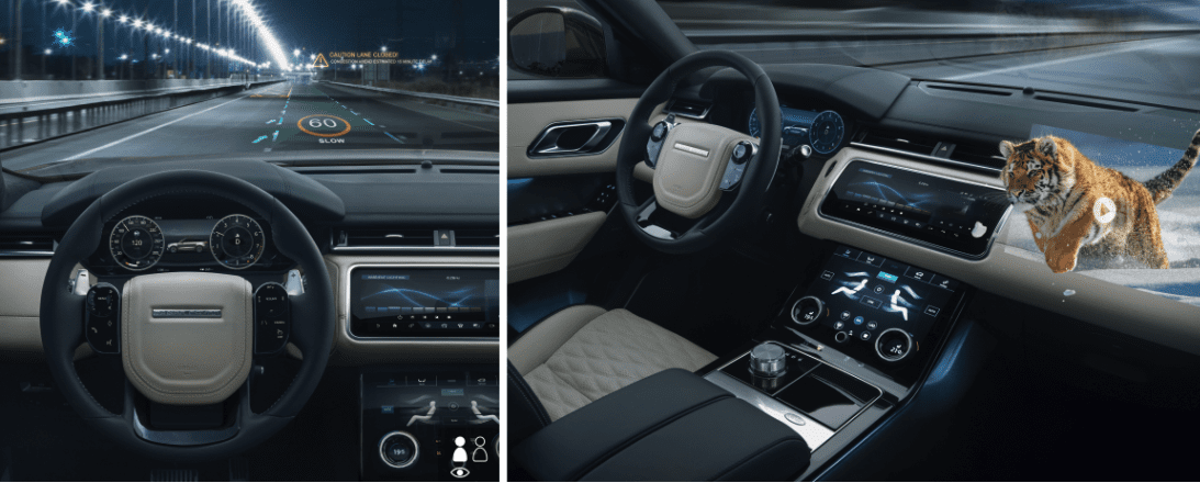 Jaguar Land Rover developing 3D head-up display