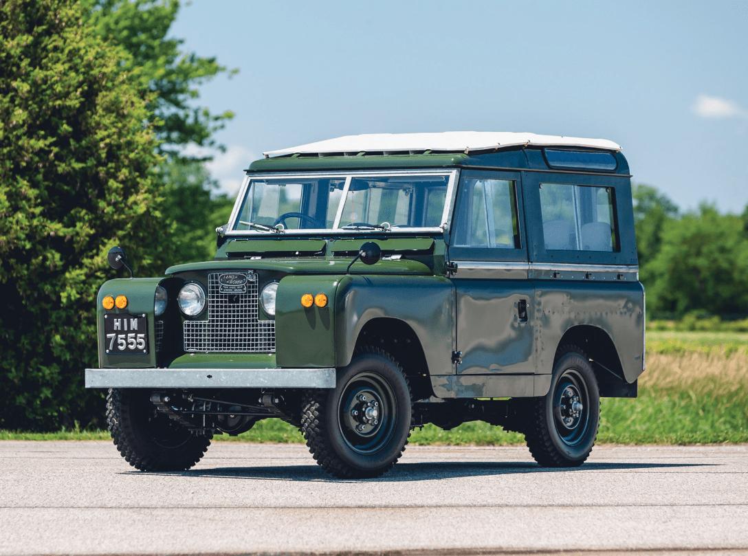 Buy the Dalai Lama's old Land Rover Series IIA