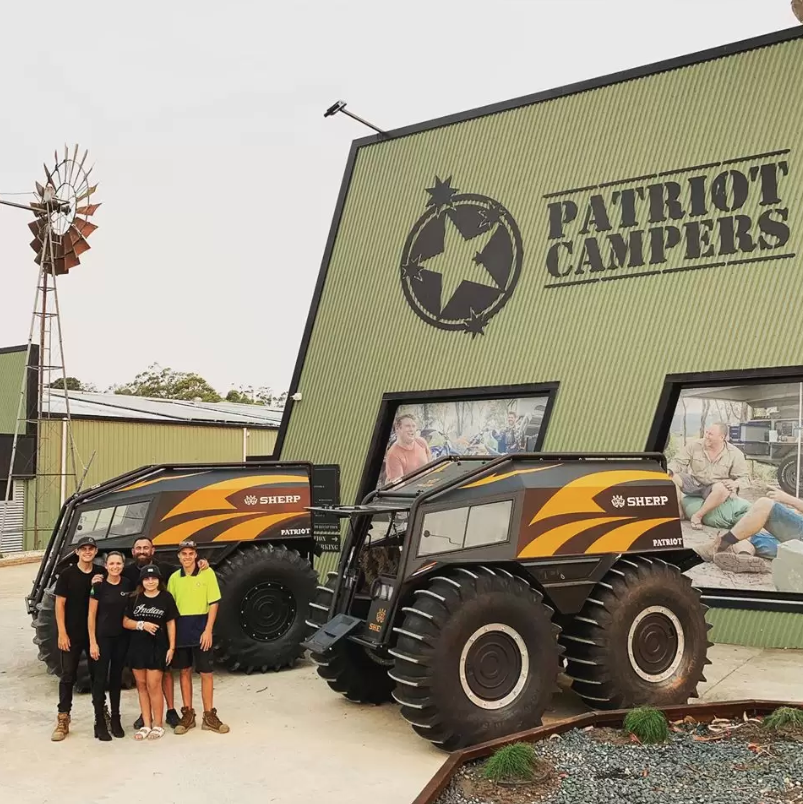 Patriot Campers becomes distributor for Sherp ATV in Oz