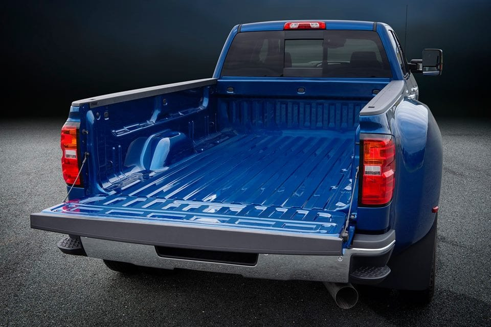 Silverado 3500HD LTZ load space