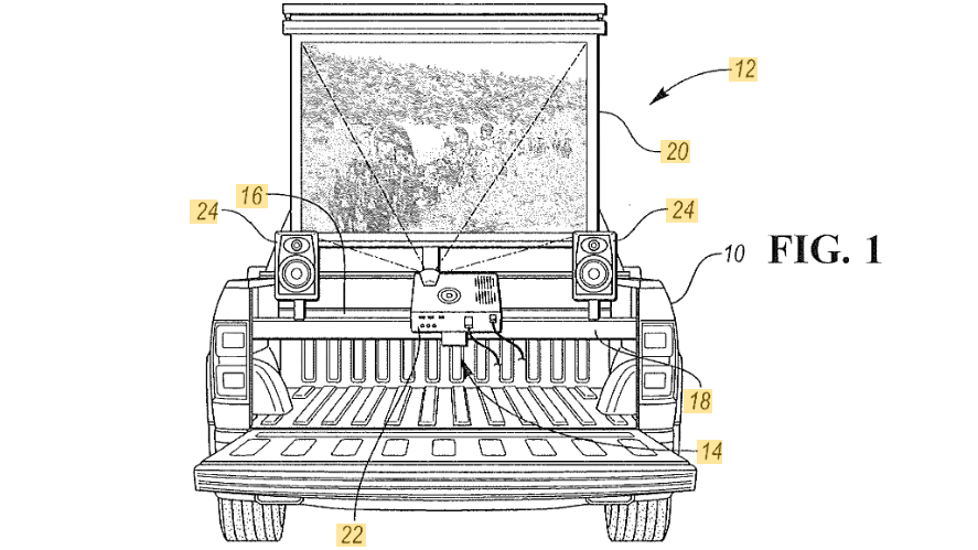 Ford ups the ante: Tub-mounted TV!