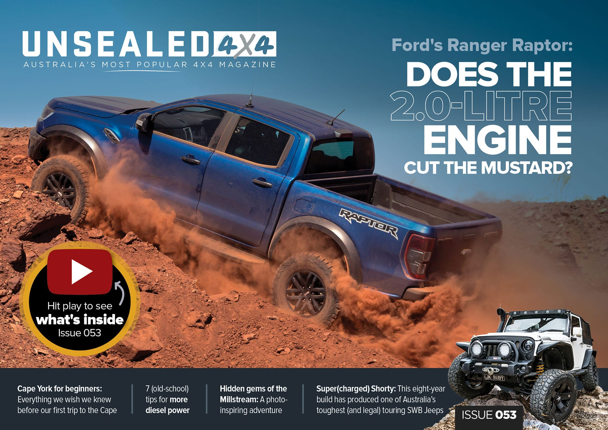Unsealed 4X4 Issue 53 – Out Now!