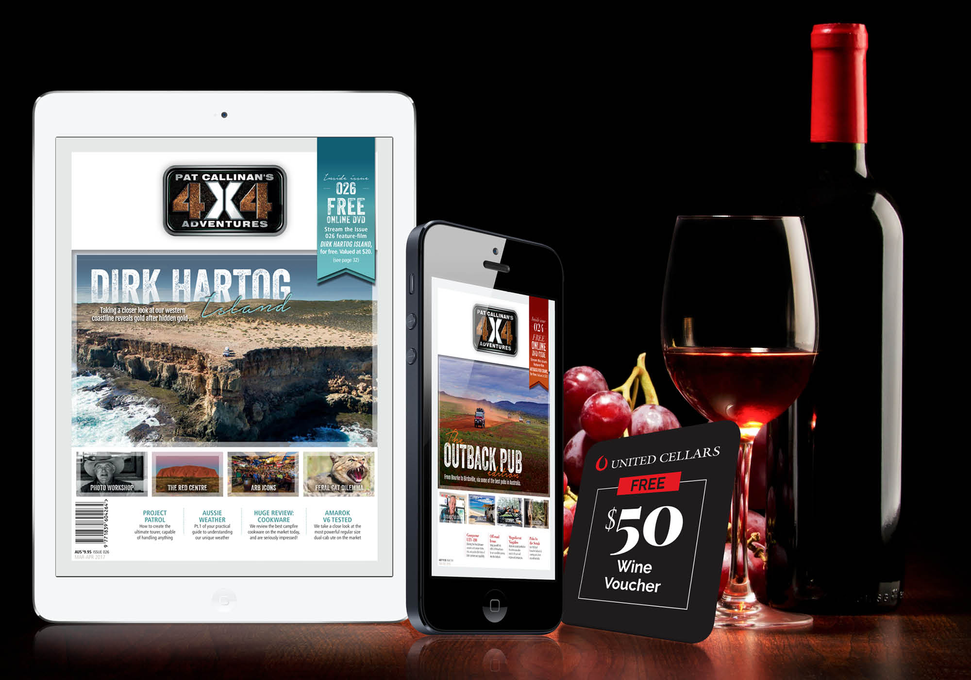 Fancy a Glass of Wine with your Magazine?