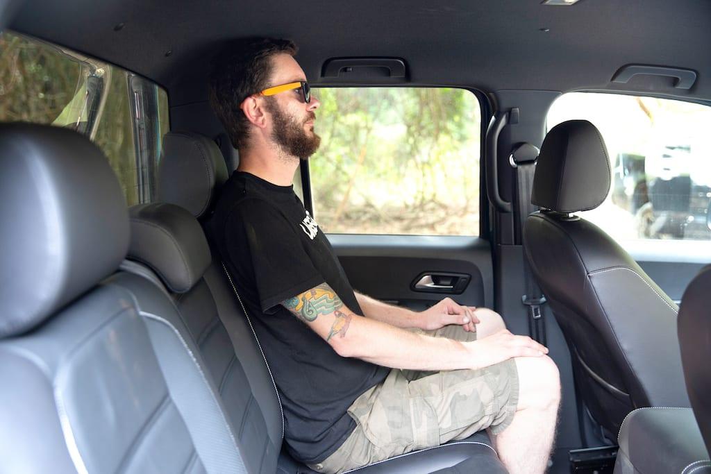 Vw Amarok Ultimate 580 Backseat