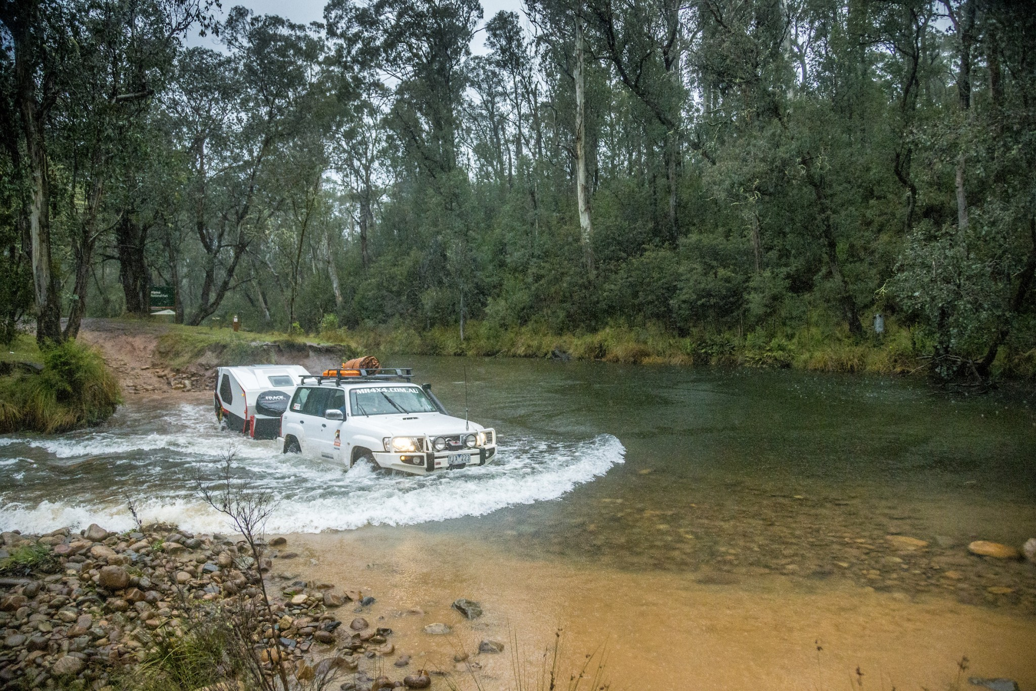 Driving Tip: Water Crossings While Towing