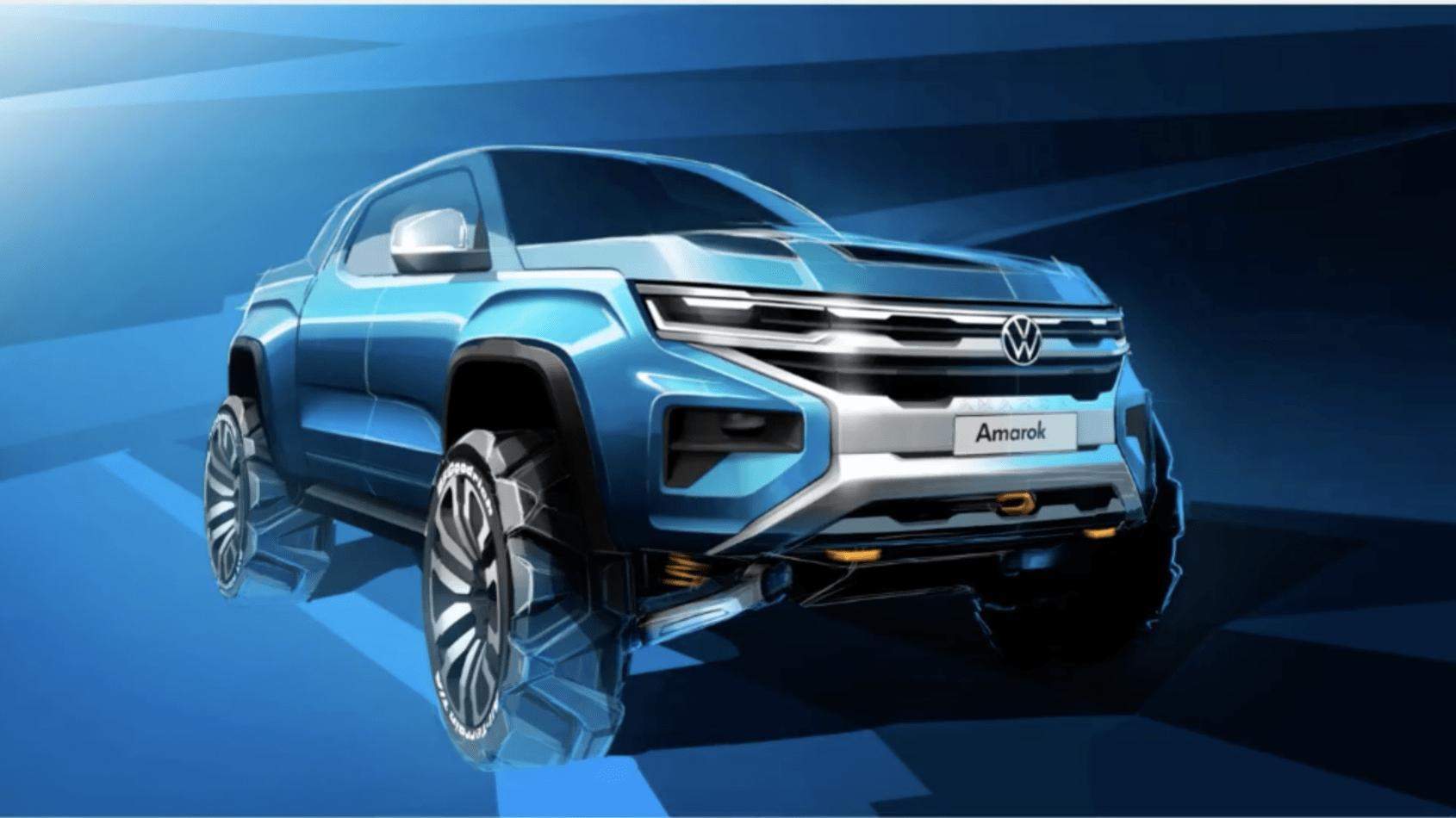 2022 Volkswagen Amarok teased