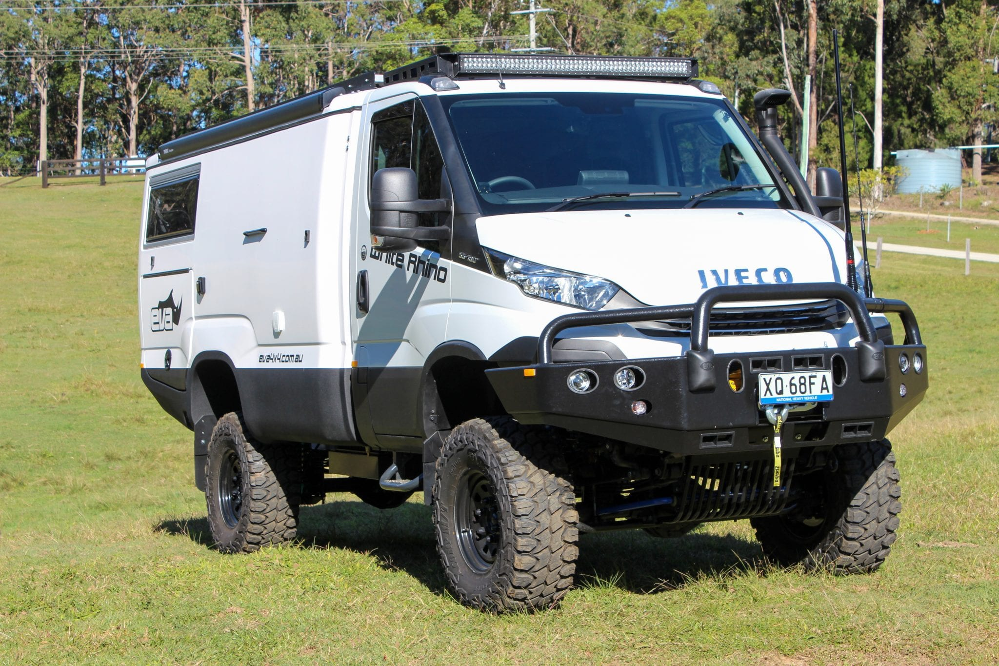 EVA Launches IVECO Daily 4×4 White Rhino