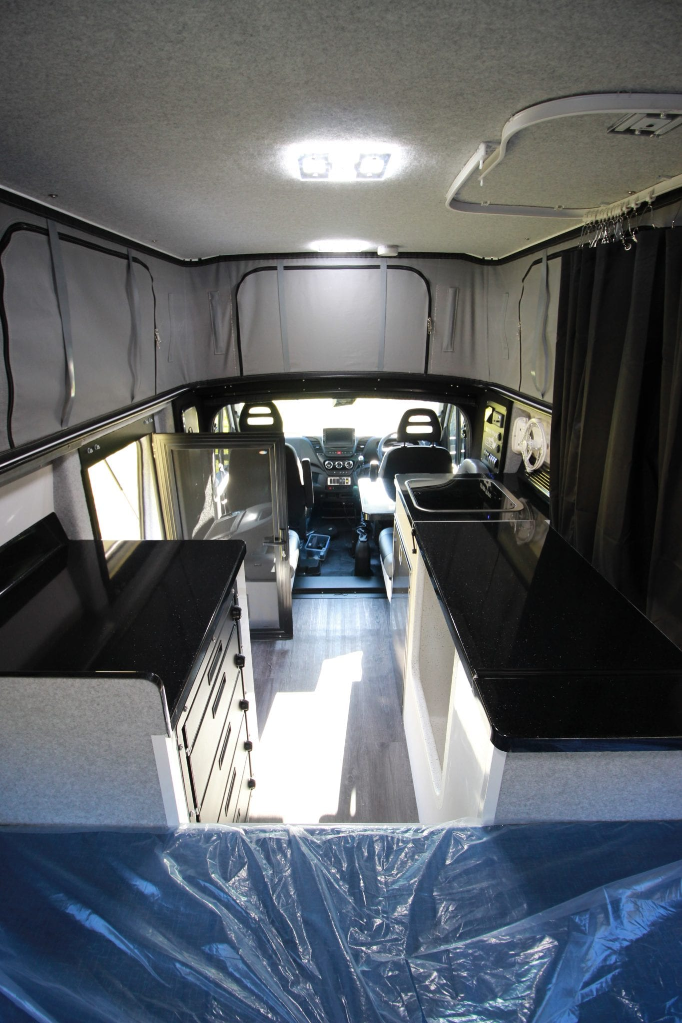 Inside the Iveco Daily White Rhino