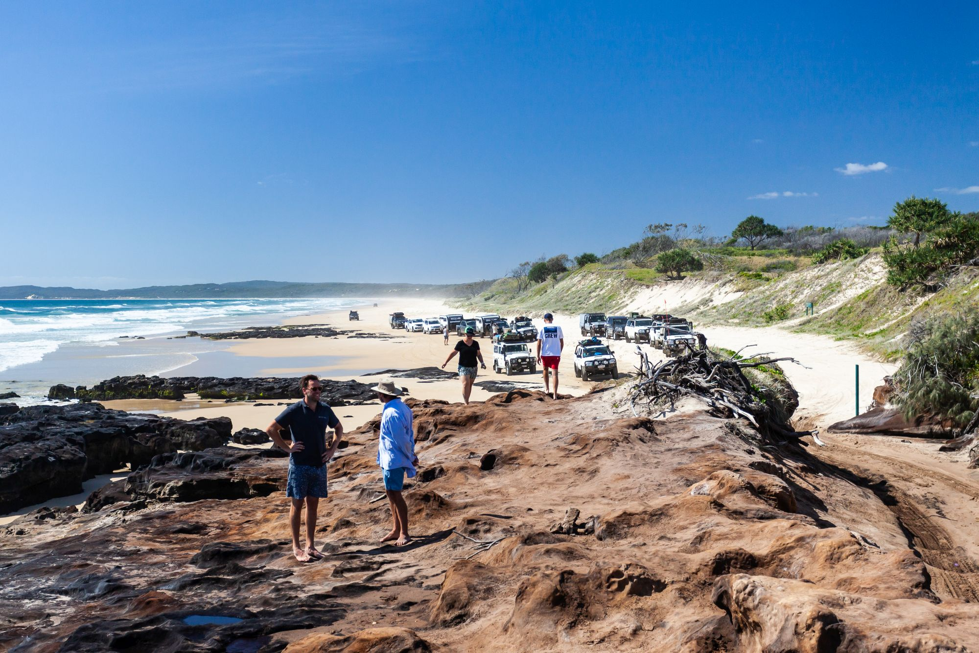 Ngkala Rocks impassable, Diray and Carree closed on Fraser Island