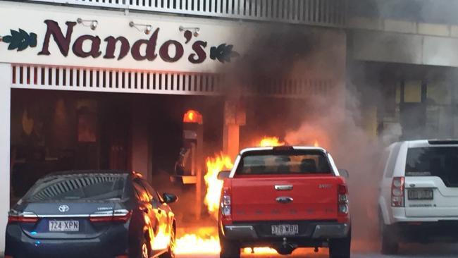 Ford Ranger Fire