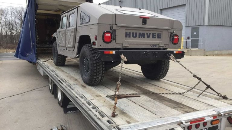 You can now buy a Hummer H1