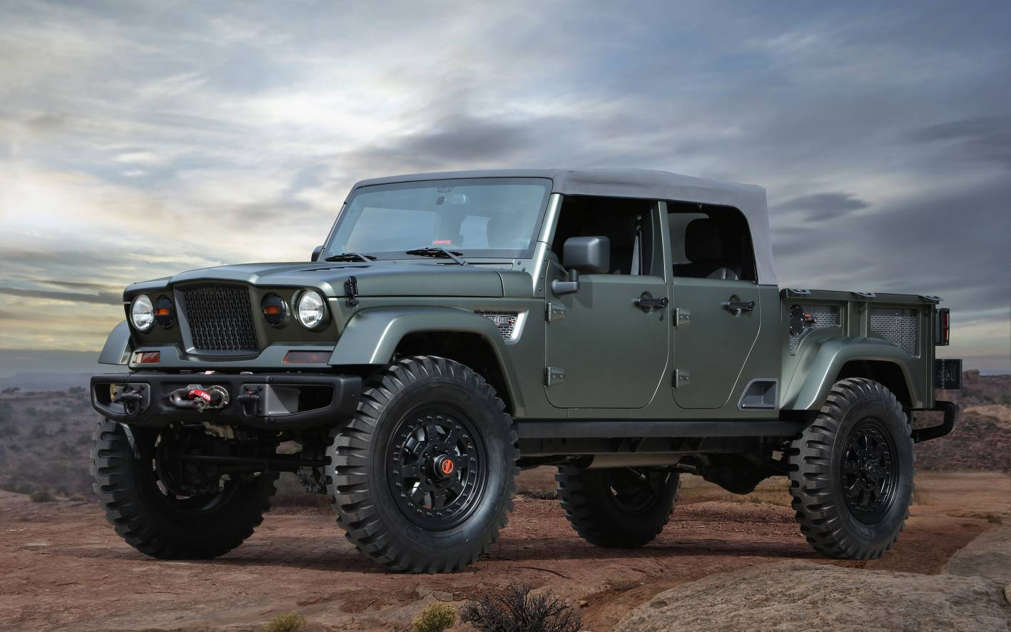 LEAKED: Jeep Scrambler Ute towing and GVM details