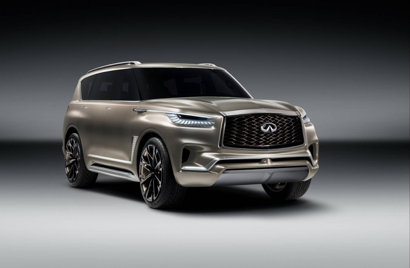 Infiniti QX80 Monograph. Significantly less ugly