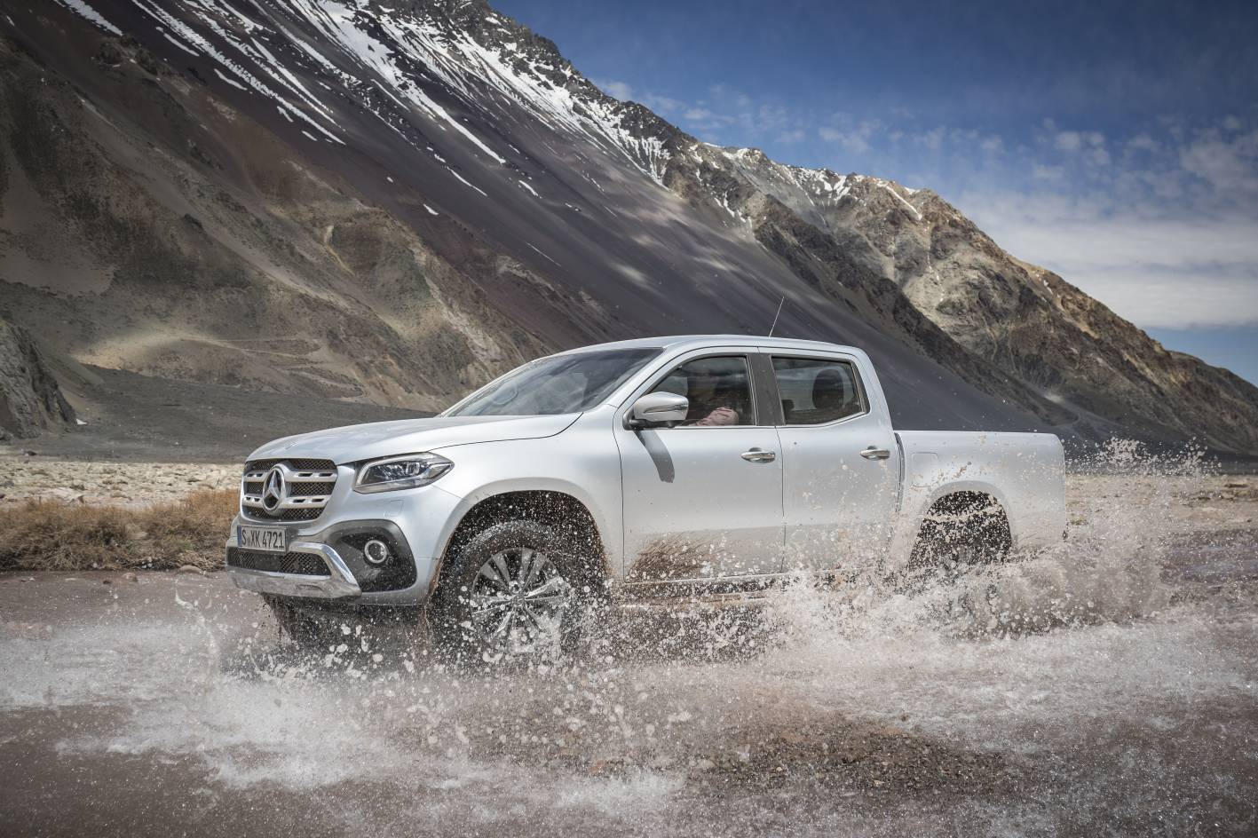 Mercedes X-Class pricing information