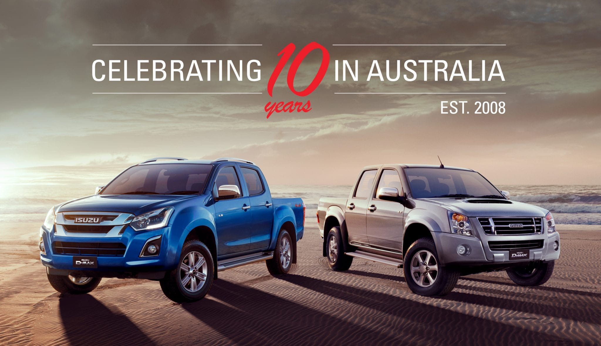 Isuzu Ute celebrates 10 years in Australia