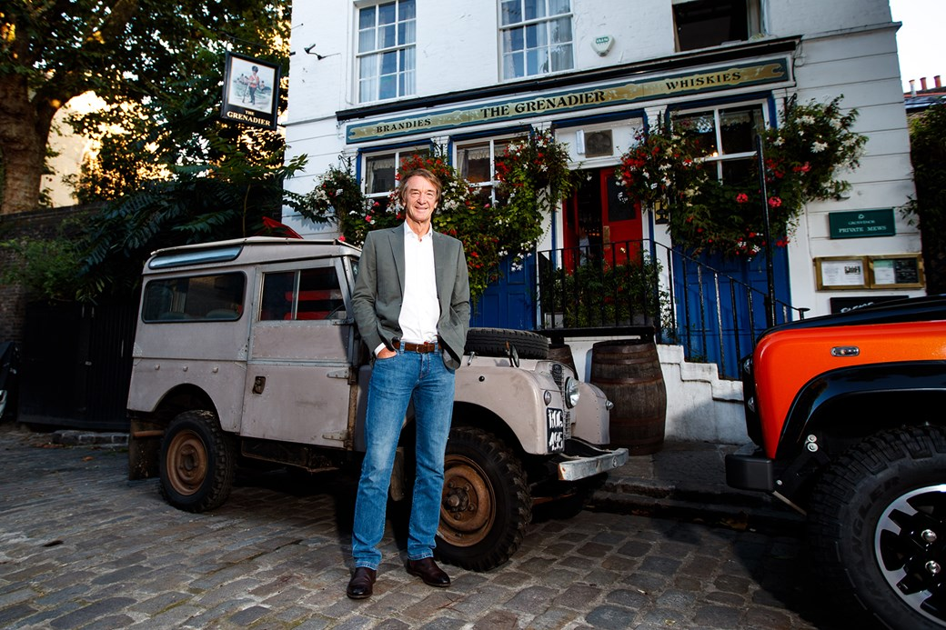 This British billionaire wants to keep the Defender alive