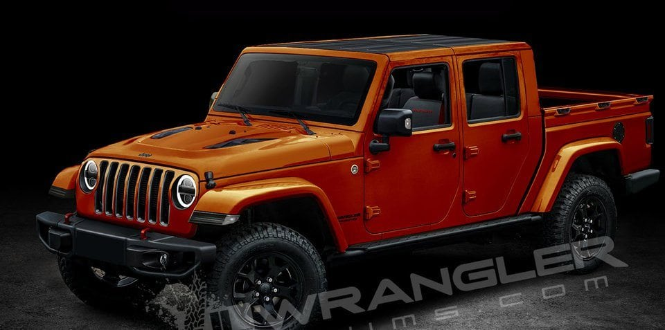Is this what the JL Wrangler ute will look like?