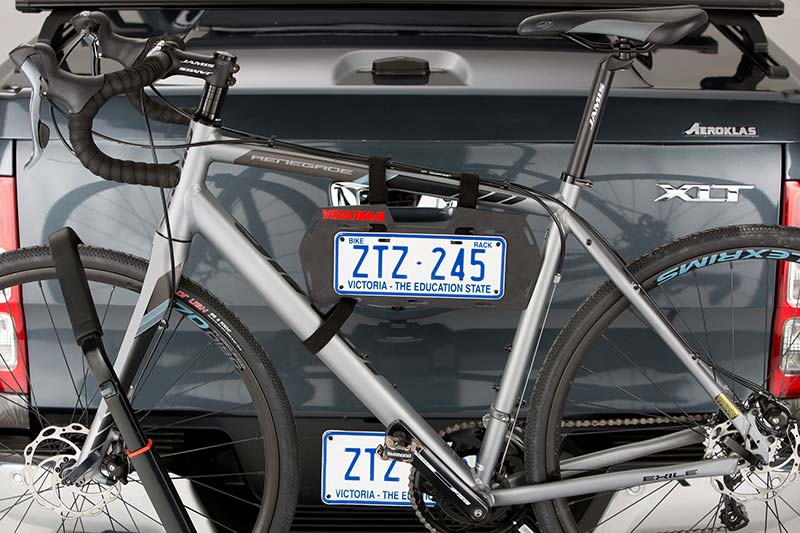 Ever wondered where to get those mini number plates for your bike rack from?