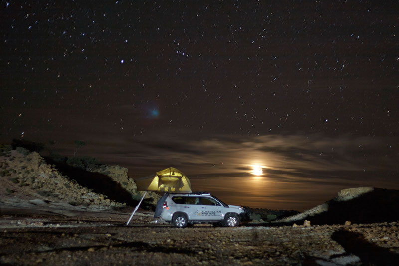 Australian 4WD Hire - Night Sky View