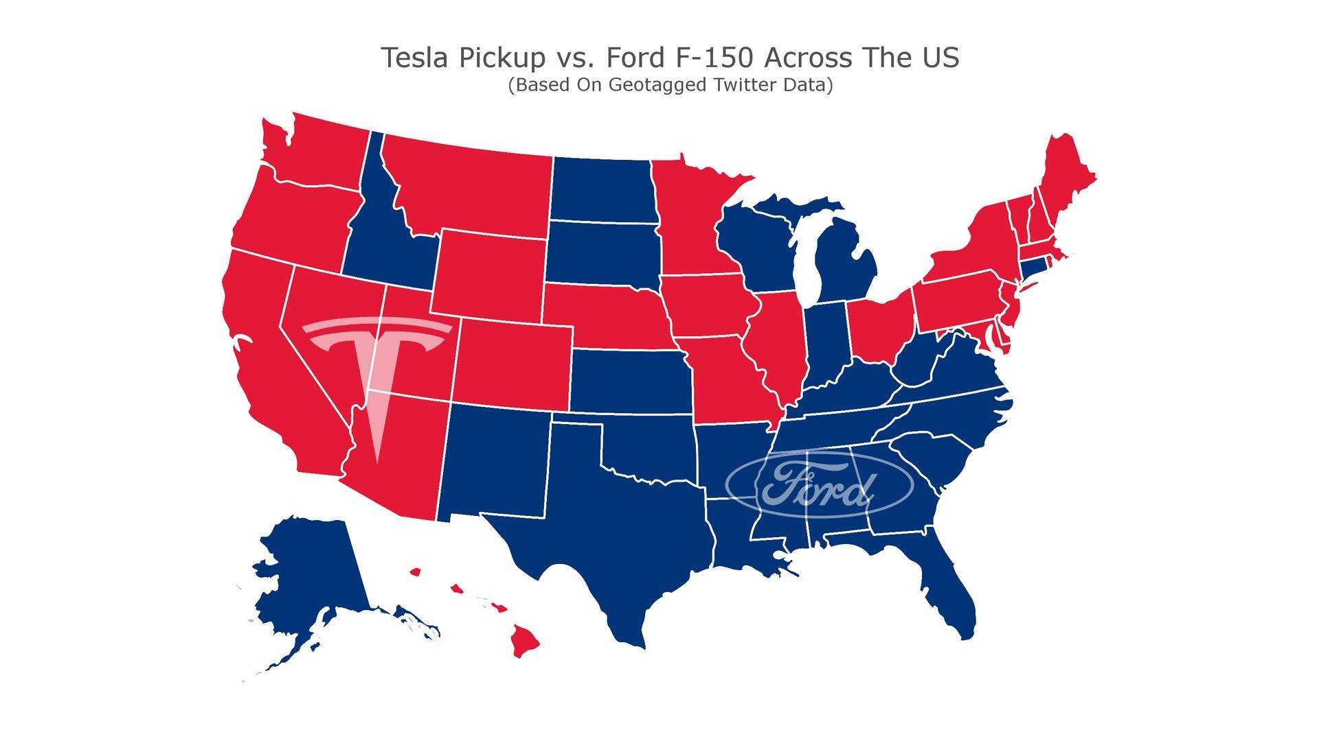 Tesla pick-up more popular than F-150