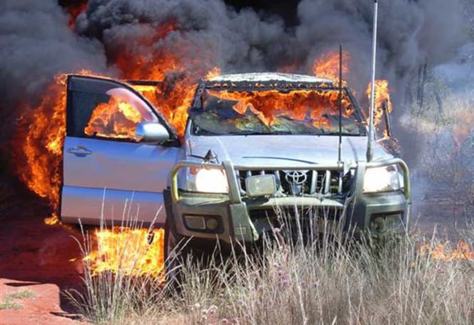 4X4s and grass fire risks. What you need to know.