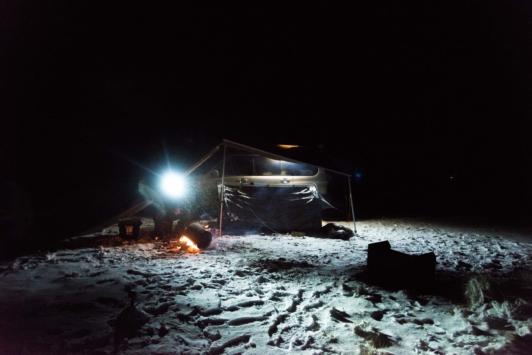 Campsite stolen!