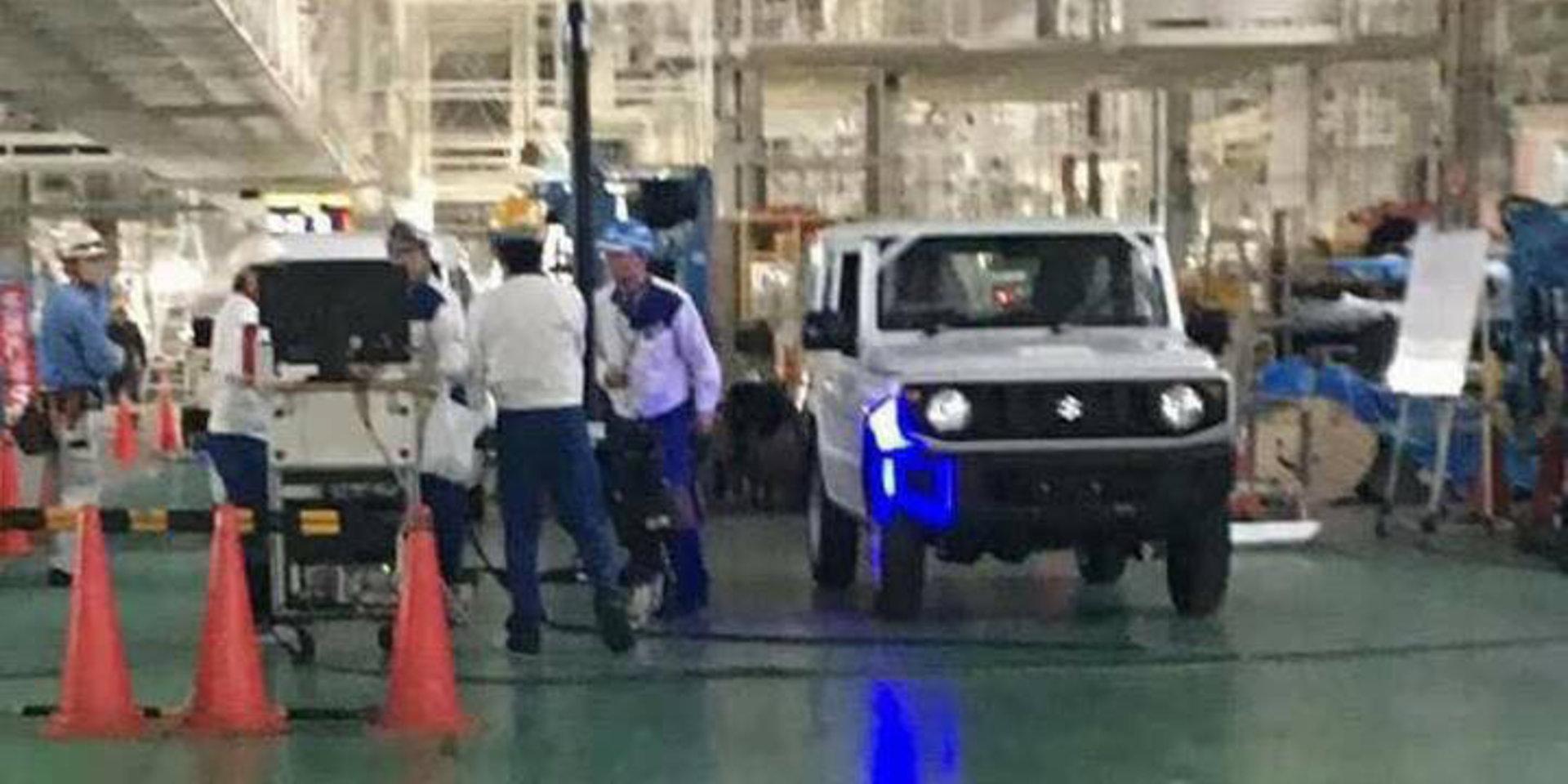 New Suzuki Jimny spotted at Hiroshima Factory