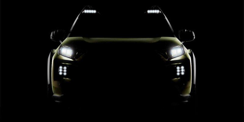 Angry Prado; GX Off Road Concept