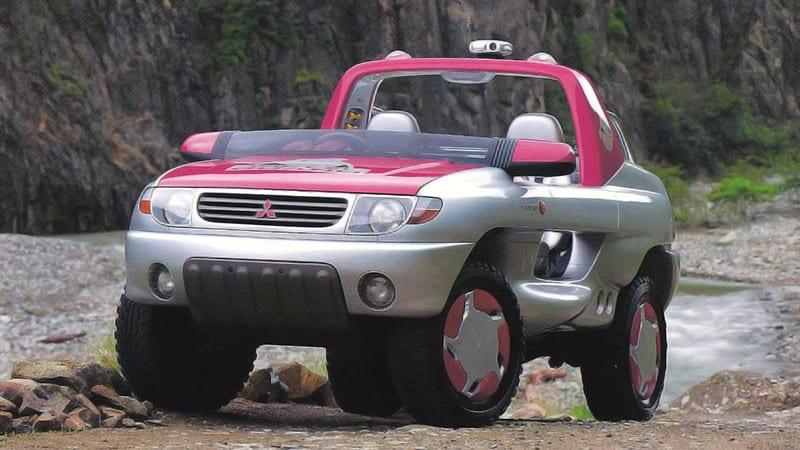 Amphibious Mitsubishis you need to see